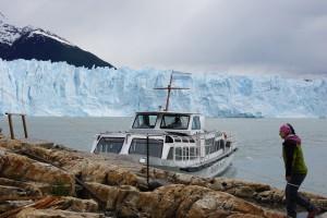 Boat to Glacier - El Califate