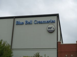 Blue Bell Sign on Building-1