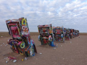 Cadillac Ranch - Rear 1-1