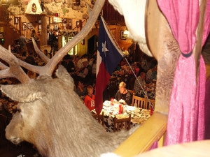 Kid watching big texan-1