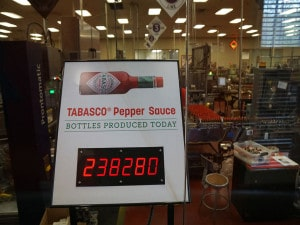 Tabasco Bottles Produced Today-1