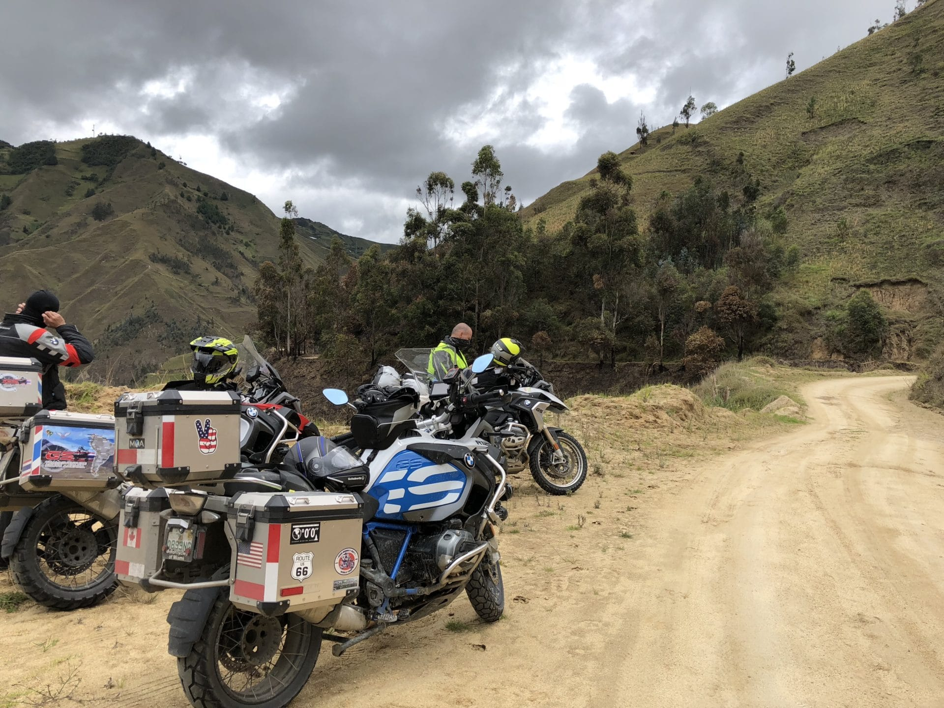 Dirt riding in Loja