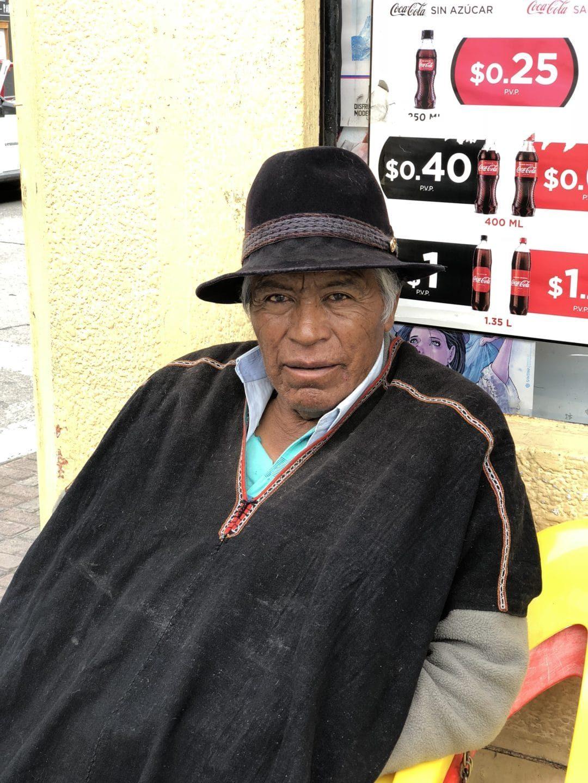 Local in Banos, Ecuador