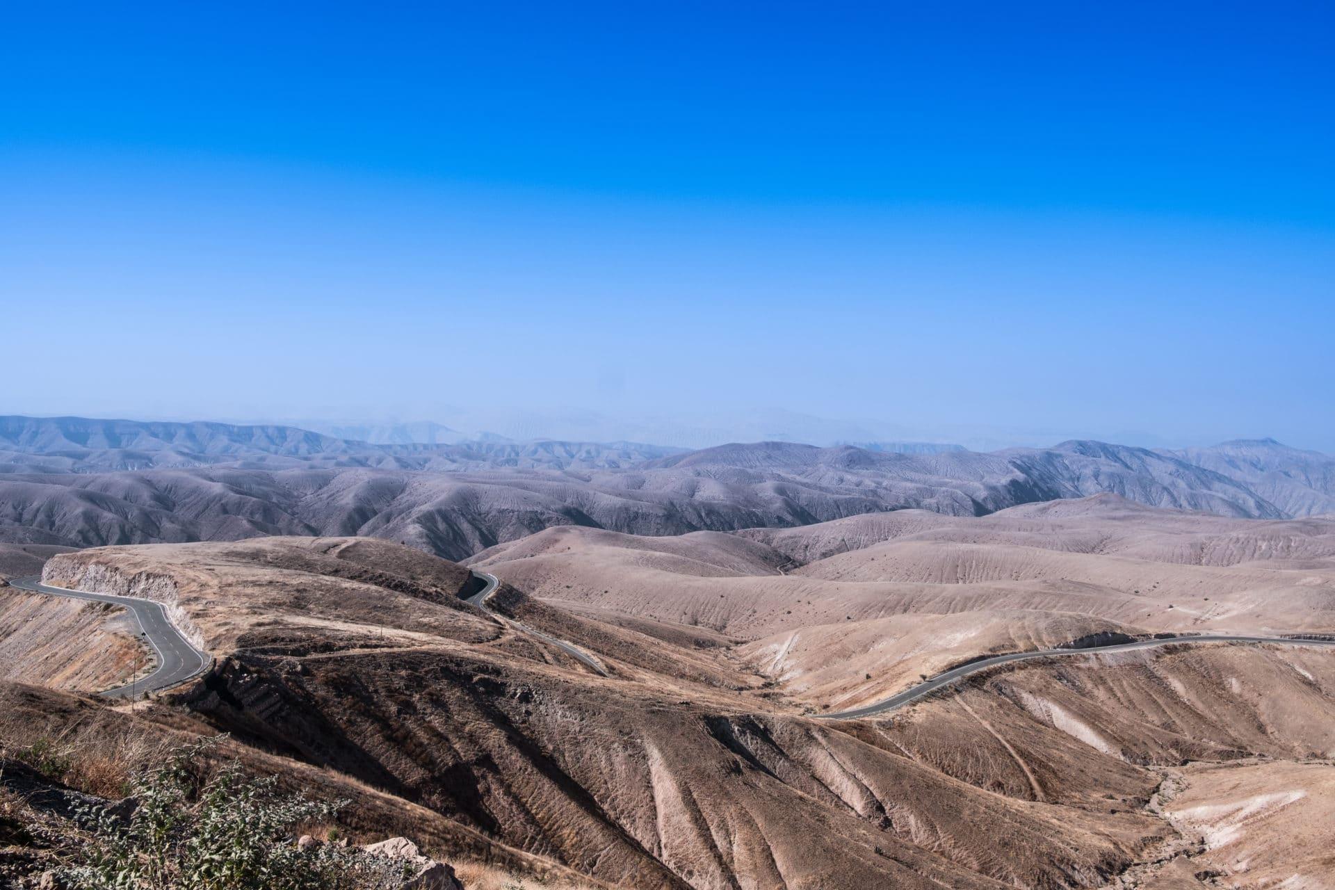 Long Road in Peru