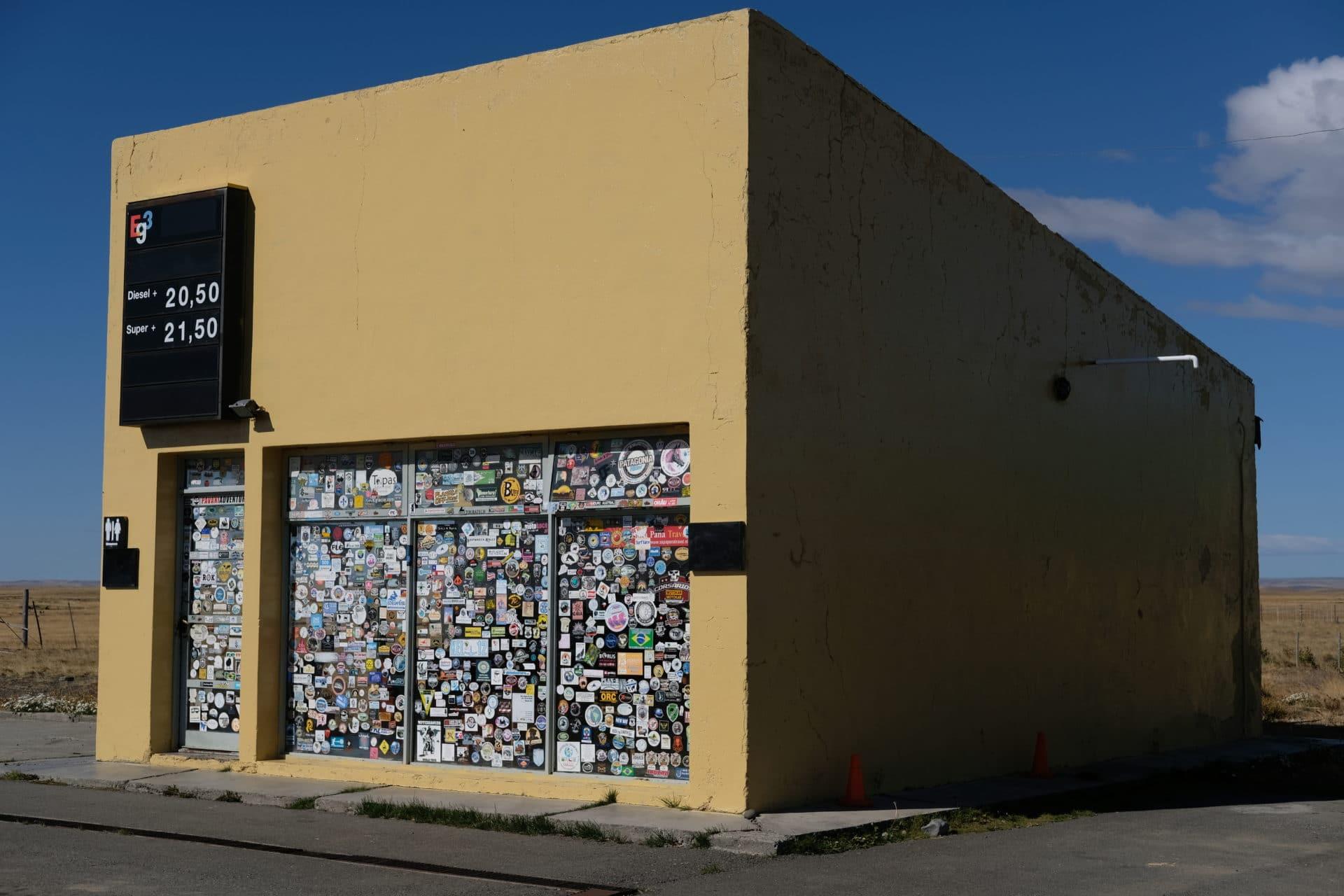 Eg3 Service Station -- Patagonia