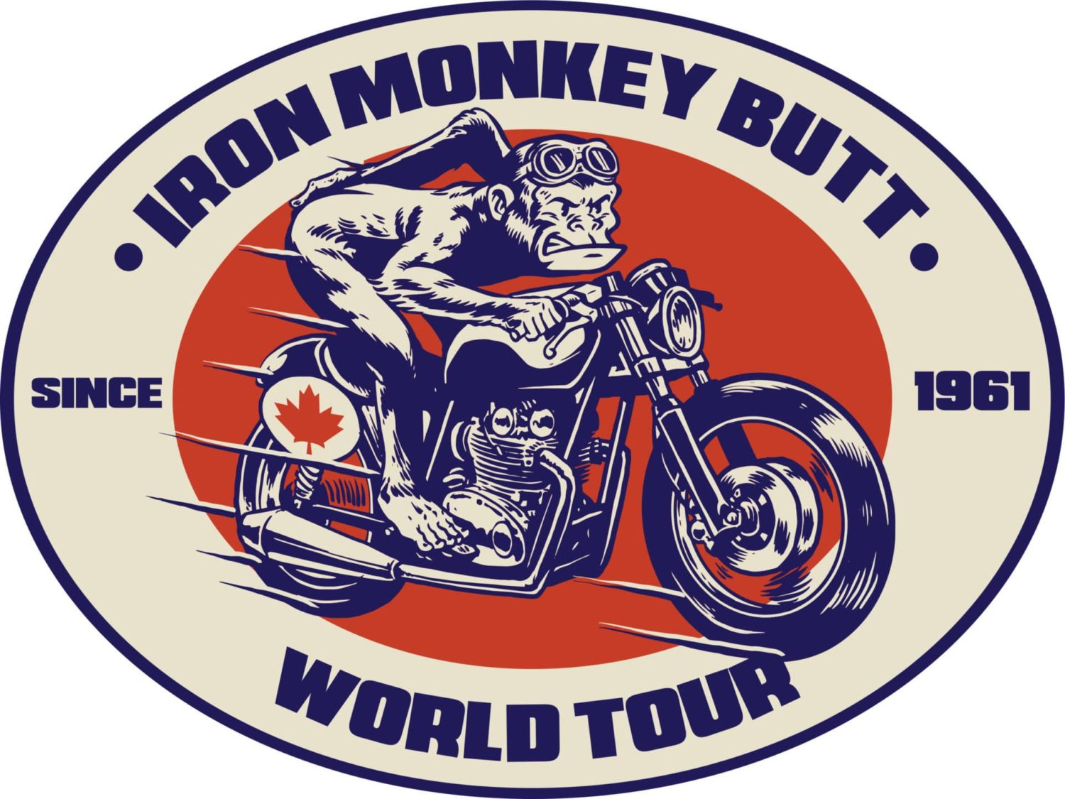 iron monkey butt logo