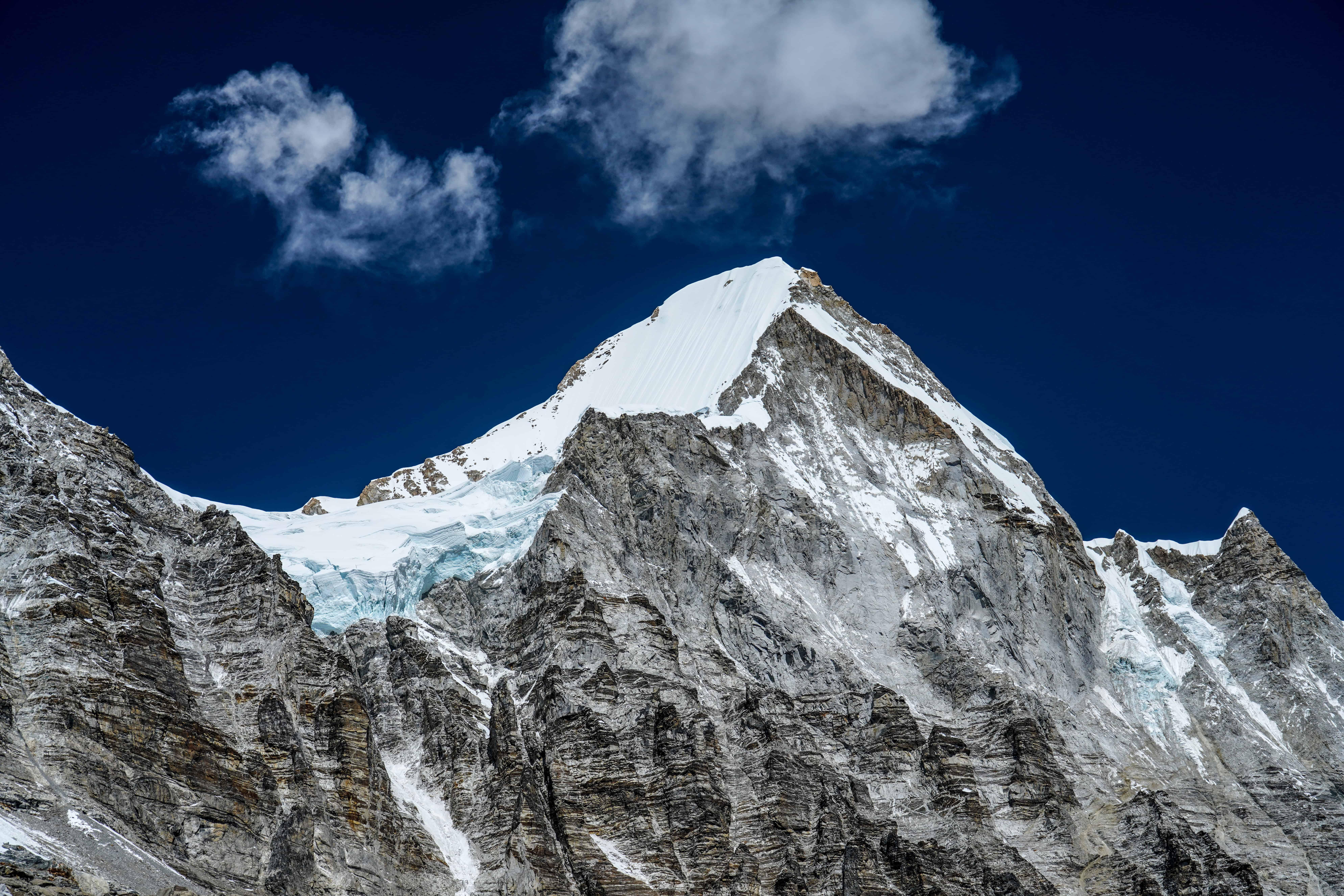 Snow Capped Mountan Range-1