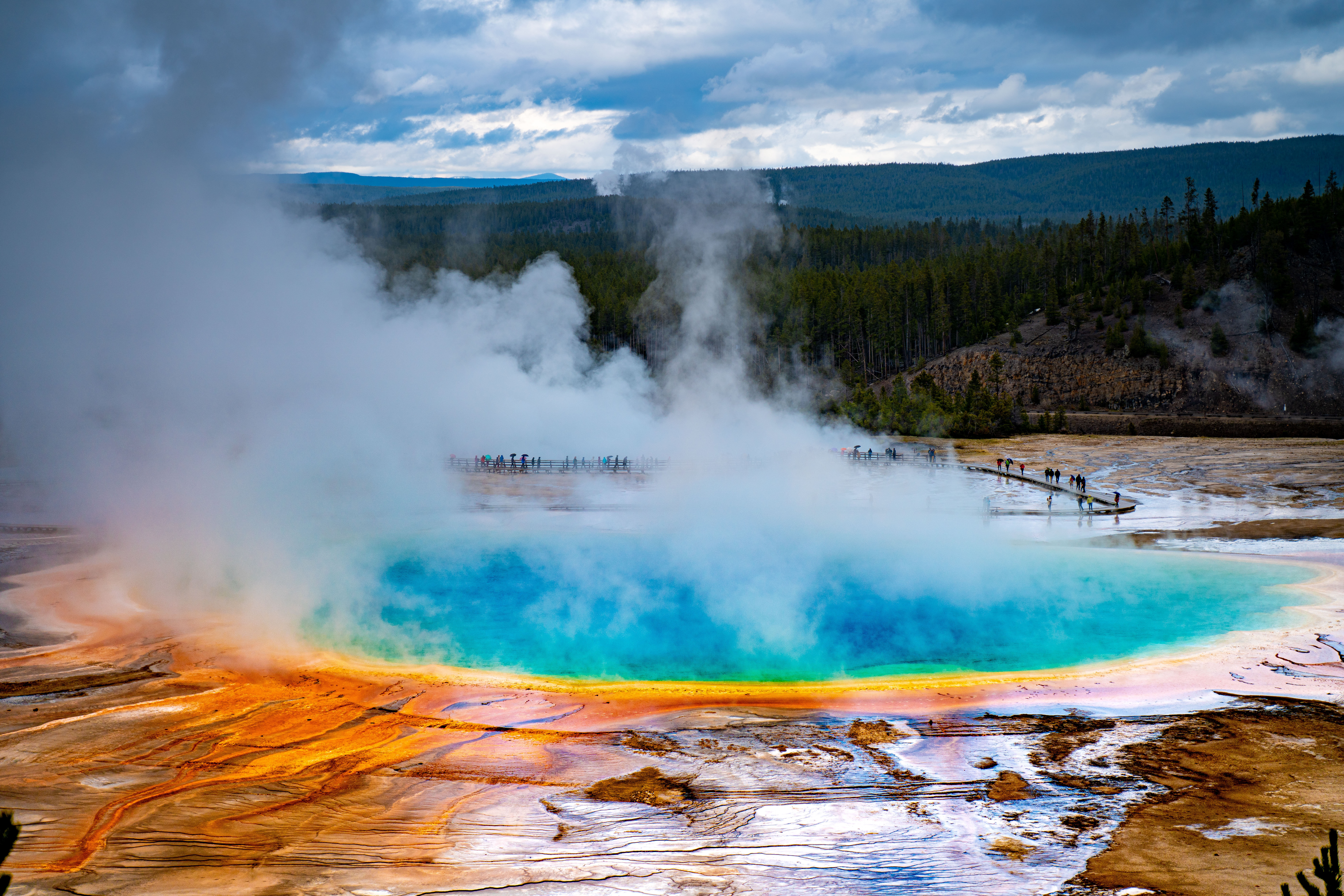 Grand Prismatic Spring - Yellowstone