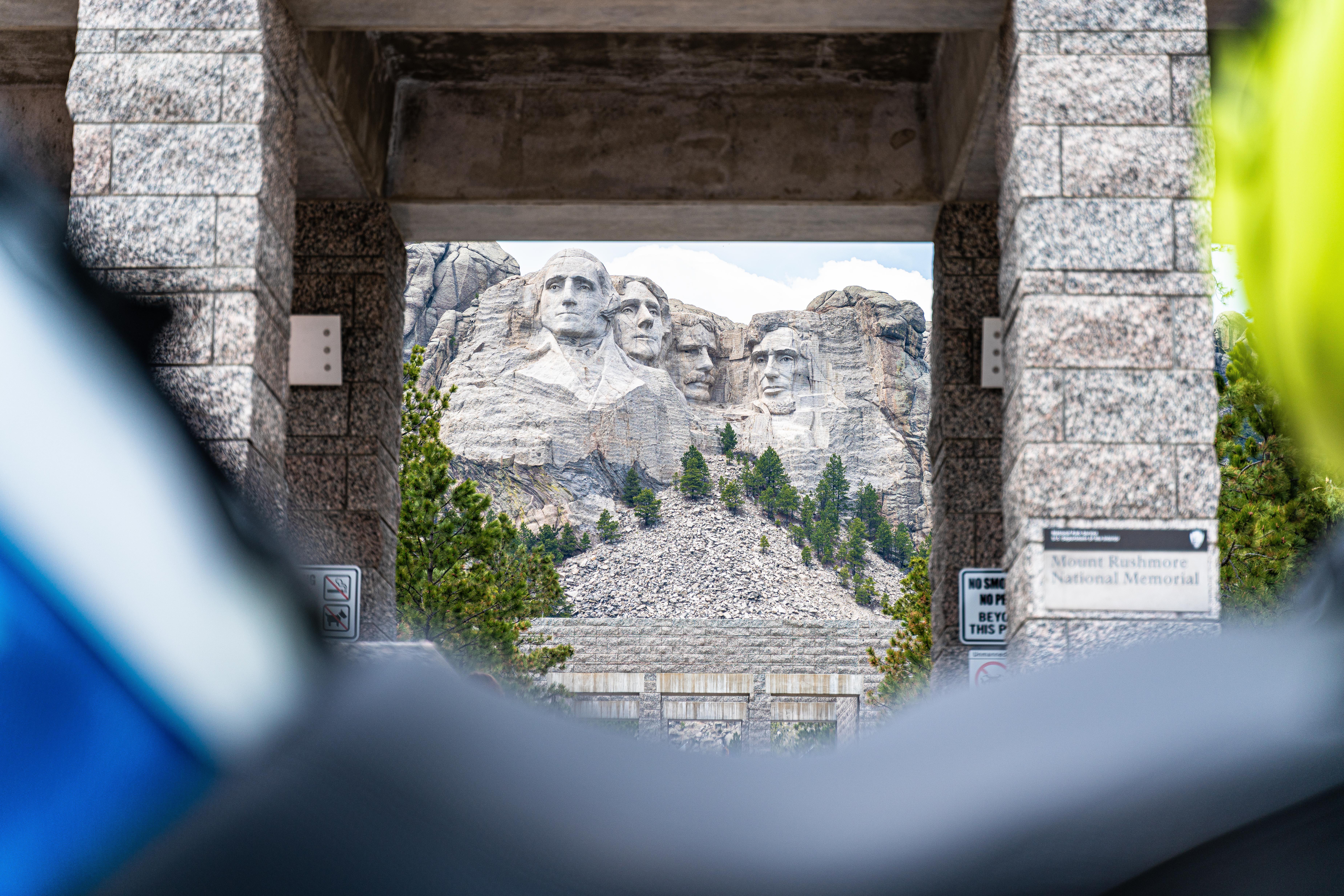 Rushmore through Seat and tankbag